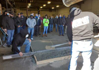 Feb 2021 NRMCA Concrete Exterior Finishers Certification Class